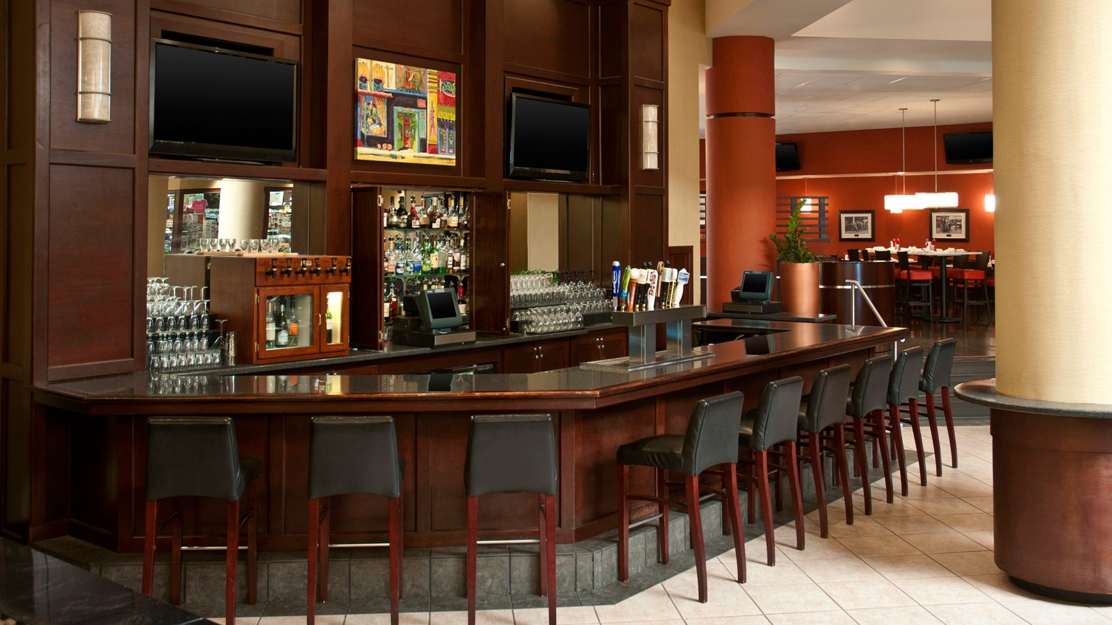Sheraton Imperial Hotel Raleigh-Durham Airport at Research Triangle Park - Durham Restaurants