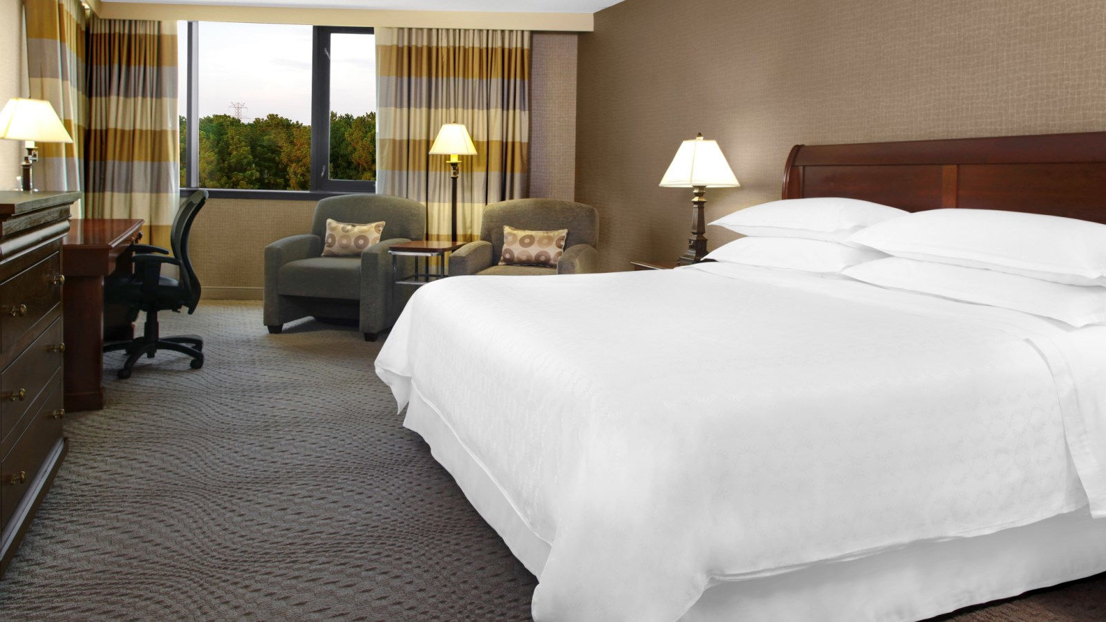 Sheraton Imperial Hotel Raleigh-Durham Airport at Research Triangle Park - Room